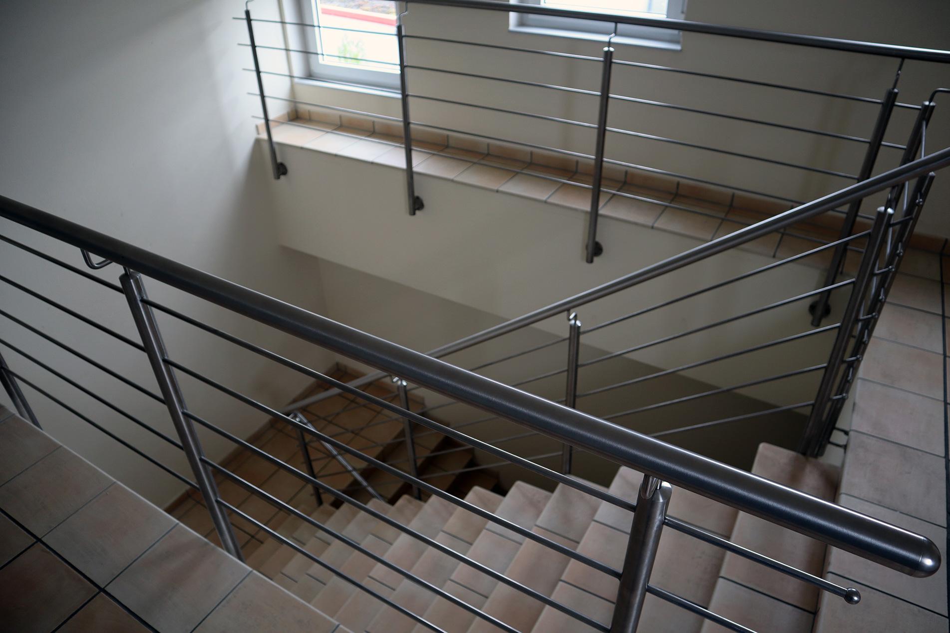 Auftragsengel Treppenhaus